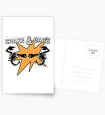 Abarth Shake & Bake Scorpion Postcards