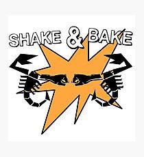 Abarth Shake & Bake Scorpion Photographic Print