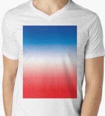 Red White & Blue Ombre T-Shirt