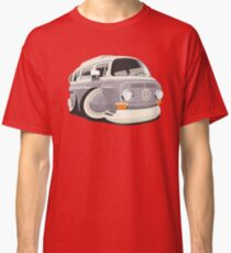 VW T2 bus caricature grey Classic T-Shirt