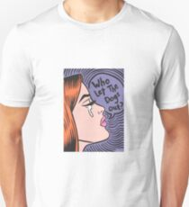 Who Let The Dogs Out? Ginger Girl T-Shirt