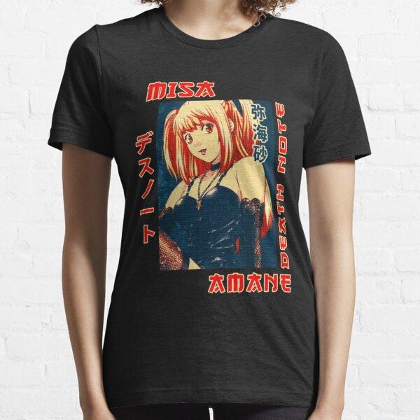 Amane Misa Death Note Anime camiseta camiseta Camiseta esencial