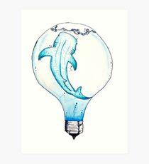 Bright Idea Art Print