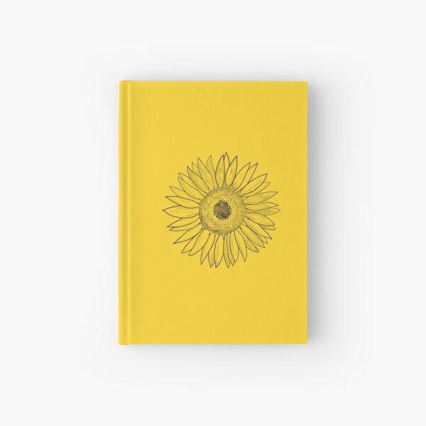 Sunny Sunflower Hardcover Journal