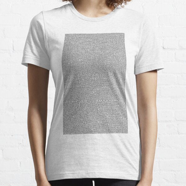 Shrek Script Essential T-Shirt