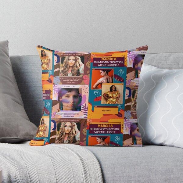 International Women's Day Campaign Throw Pillow