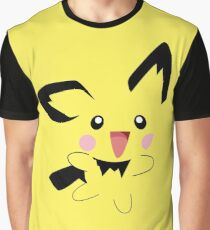 Pichu Minimal (Pokemon) Graphic T-Shirt