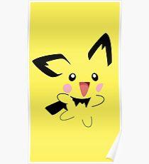 Pichu Minimal (Pokemon) Poster