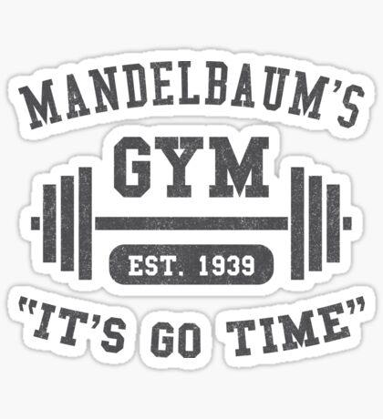 Mandelbaum's Gym Sticker