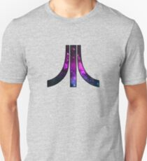 A retro Atari symbol with a cosmic twist T-Shirt