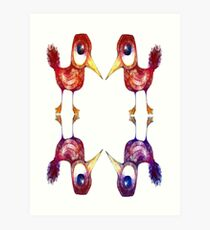 Mythical Birds Art Print