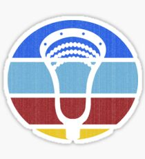Lacrosse TeePee Fade Sticker