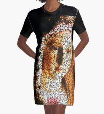 Mary - Holy Mother By Sharon Cummings Graphic T-Shirt Dress
