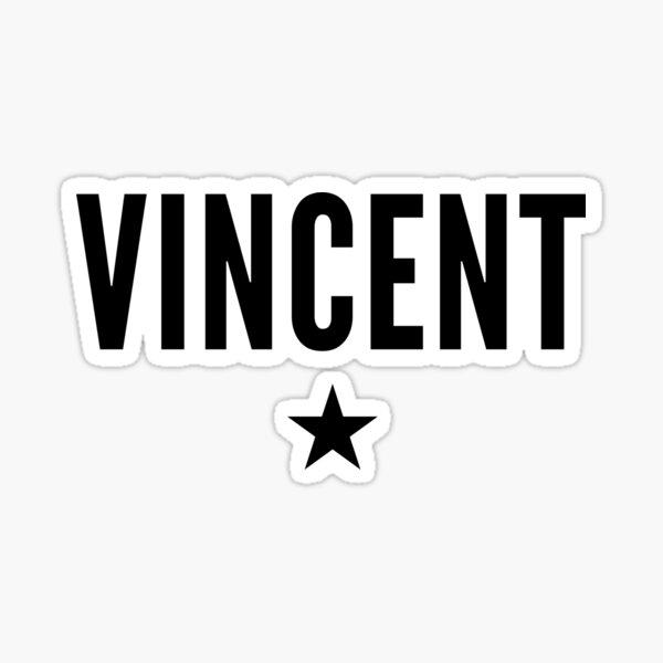 Vincent is a Star Sticker