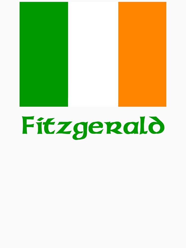 Fitzgerald Irish Flag by IrishArms