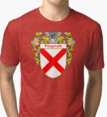 Fitzgerald Coat of Arms/Family Crest Tri-blend T-Shirt