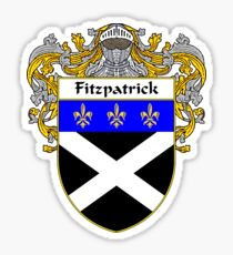 Fitzpatrick Coat of Arms/Family Crest Sticker