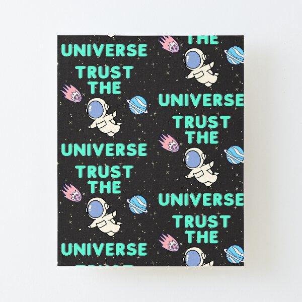Art Print Universe Woman Affirmation i trust myself Poster Starry Sky