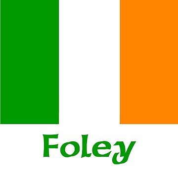 Foley Irish Flag by IrishArms