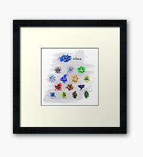 The 100 Clans Framed Print