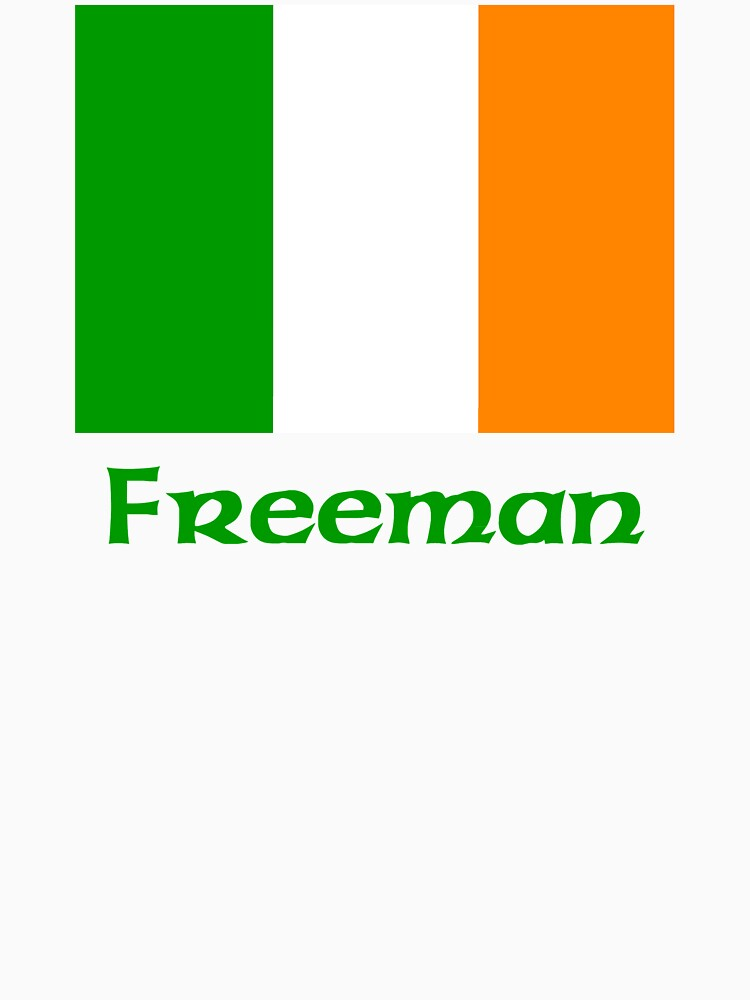 Freeman Irish Flag by IrishArms