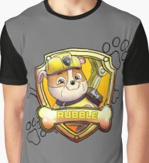 Rubble Graphic T-Shirt