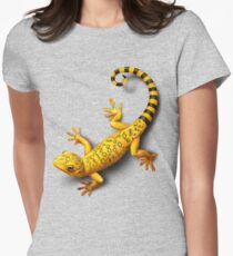 Yellow Gecko bringing Success Women's Fitted T-Shirt