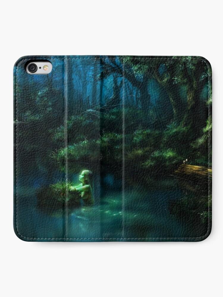Alternate view of Night of Memories iPhone Wallet
