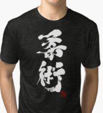 Jiu Jitsu - White Edition Tri-blend T-Shirt