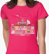 Internet Cat Fight Womens Fitted T-Shirt