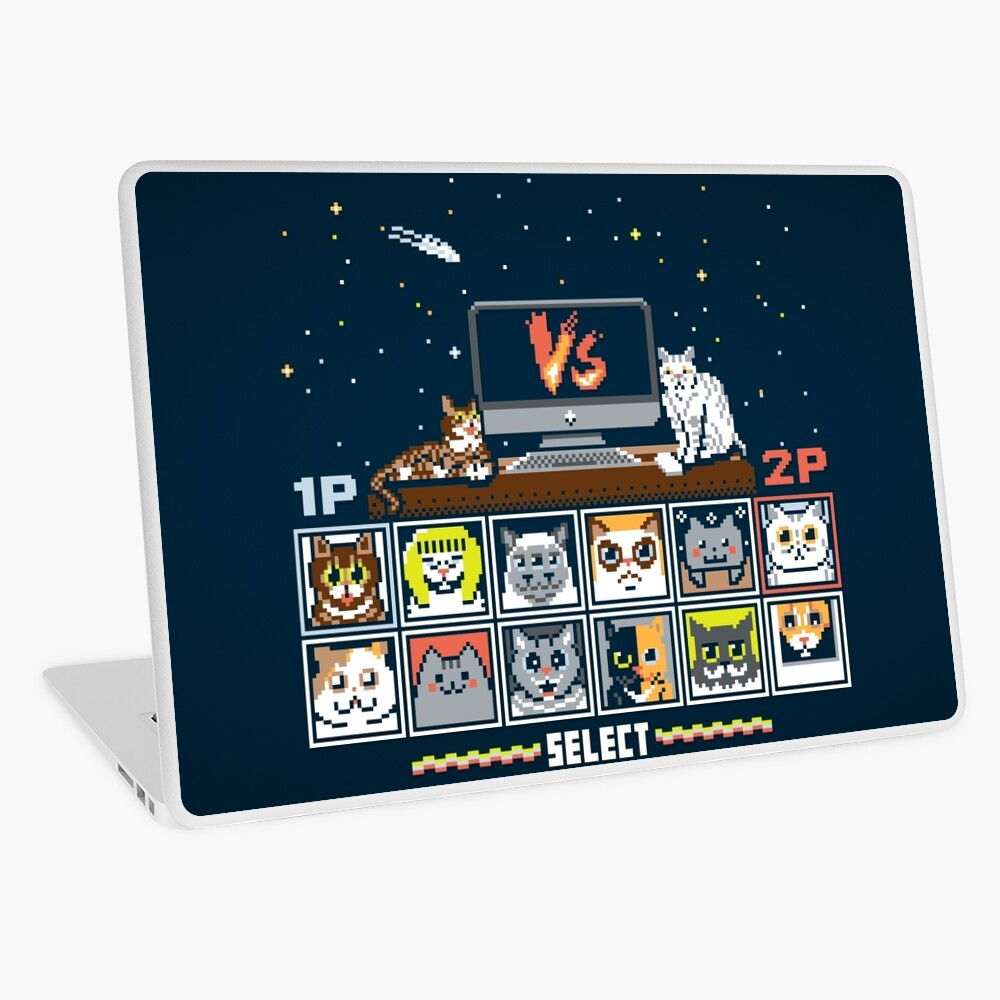 Internet Cat Fight Laptop Skin
