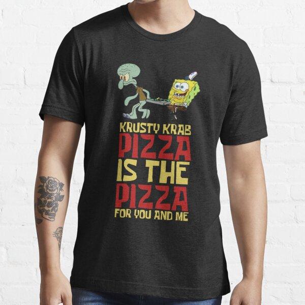 est la pizza T-shirt essentiel