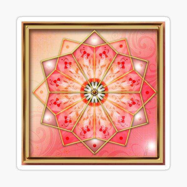 Archangel Ariel Mandala Sticker