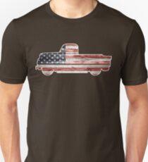 Patriotic Vintage Pickup Truck T-Shirt