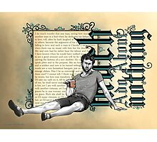 Shakespeare Much Ado About Nothing David Tennant Benedick Photographic Print