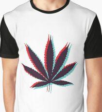 Marijuana Leaf 4 Graphic T-Shirt