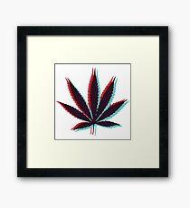 Marijuana Leaf 4 Framed Print