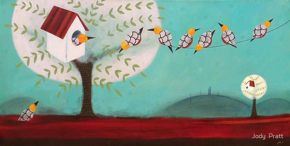 Neighbourhood Meeting by Jody  Pratt