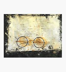 Father's Glasses Photographic Print