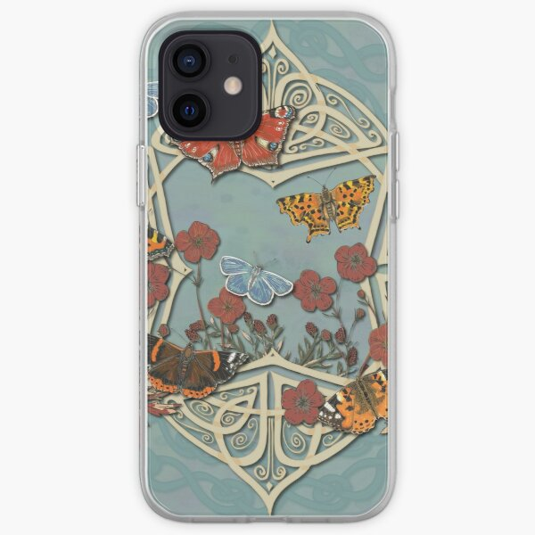 Butterfly Celtic Garden Fantasy iPhone Soft Case