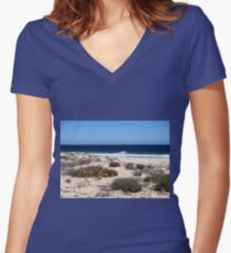 Holiday! Women's Fitted V-Neck T-Shirt