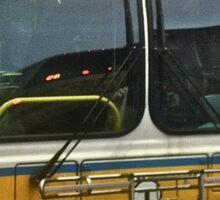 Boston Strong MBTA Bus Sticker