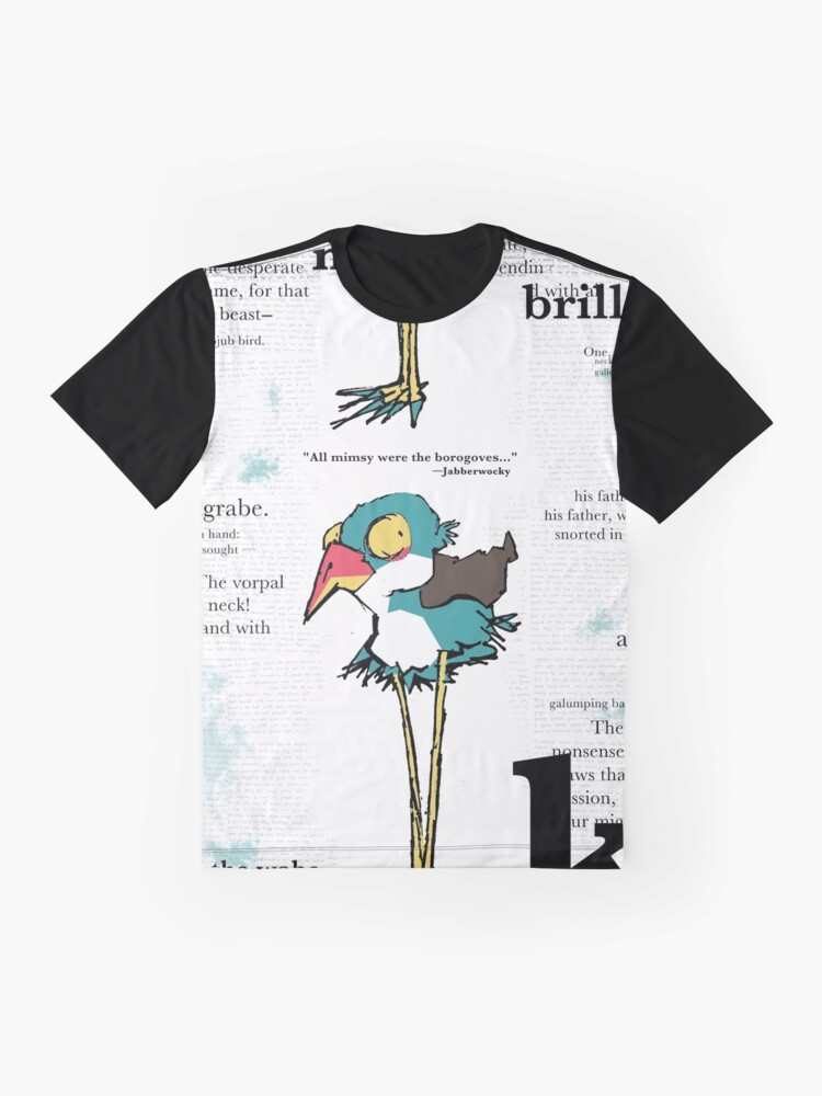 Alternate view of JABBER Series - BOROGOVE Graphic T-Shirt