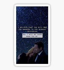 Revival Mulder & Scully Sticker