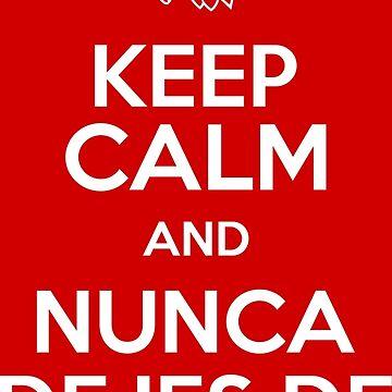 Keep Calm and Nunca Dejes De Creer by MundoAtleti
