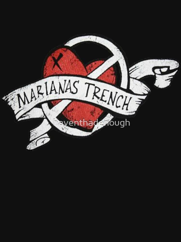 Marianas Trench Heart Logo | Unisex T-Shirt
