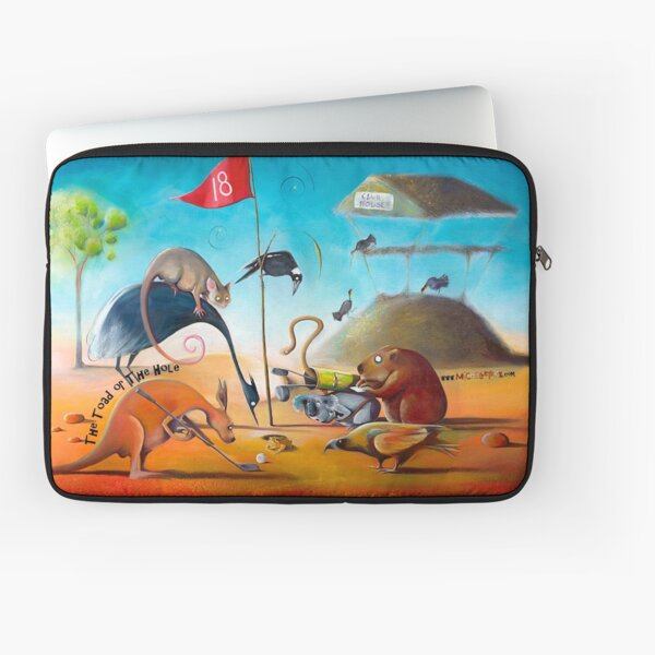 The Toad or The Hole Laptop Sleeve