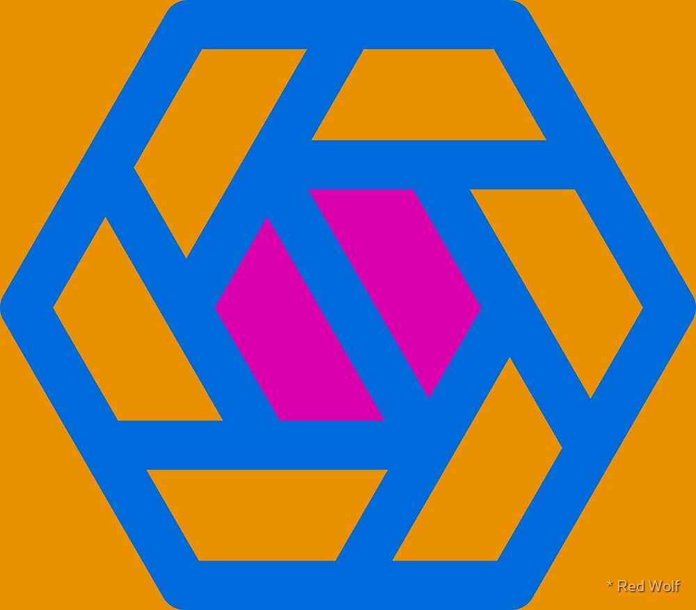 Geometric Pattern: Aperture: Ashbury by * Red Wolf