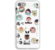Haikyuu!! iPhone Case/Skin