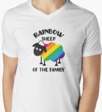 Rainbow Sheep Of The Family LGBT Pride Men's V-Neck T-Shirt